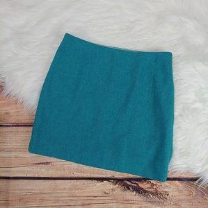 J.Crew skirt wool blend size 0